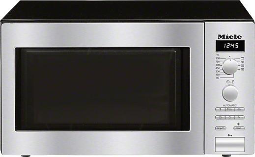 MIELE M6012SC ED Pure | Stand-Mikrowellengerät mit seitlich liegender Knebelbedienung zum günstigen Einstiegspreis.