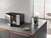 MIELE M6012SC ED Pure   Stand-Mikrowellengerät mit seitlich liegender Knebelbedienung zum günstigen Einstiegspreis.