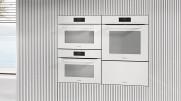 MIELE ESW 7030 brillantweiß | Grifflose Gourmet-Wärmeschublade in 32cm Höhe für die 90cm hohe Nische  zum Vorwärmen von Geschirr, zum Speisen Warmhalten und Niedertemperaturgaren.